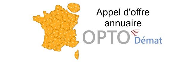 EDI-Optique publie l'appel d'offre destiné à choisir un prestataire informatique pour développer l'annuaire des coffres-forts électroniques des magasins d'optique dans le cadre du projet OPTO-Démat. Cet appel d'offre est ouvert […]