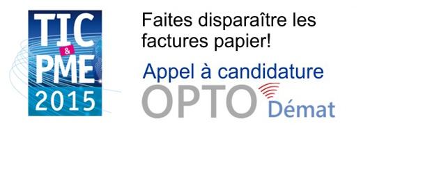 Le projet OPTO-Démat vise à supprimer d'ici à 2015 les factures papier dans la profession. Il a été retenu par la DGCIS...